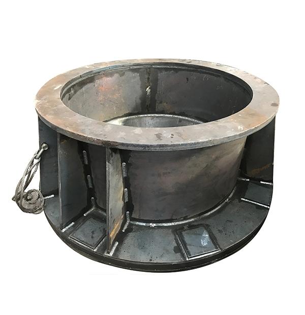 冲旋磨粉机