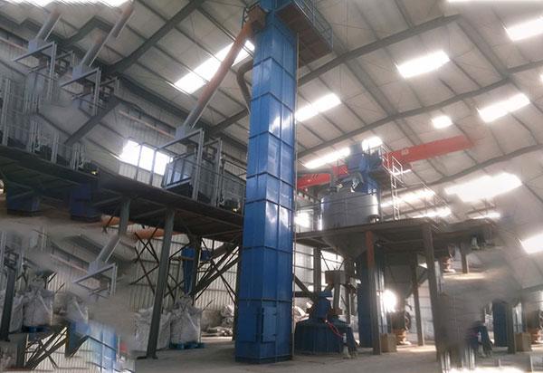 硅粉生产线